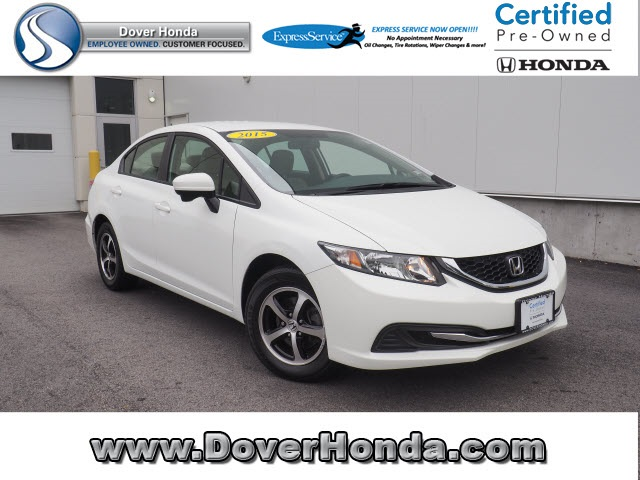 Certified Pre Owned 2015 Honda Civic SE