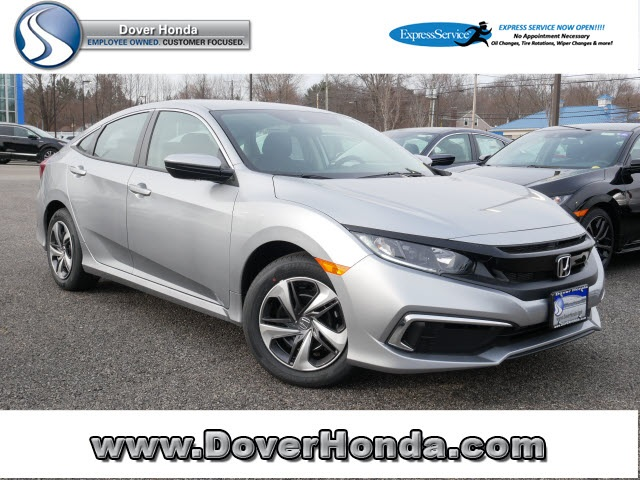 New 2020 Honda Civic LX FWD 4D Sedan CVT