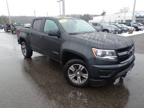 Certified Pre-Owned 2018 Chevrolet Colorado Work Truck