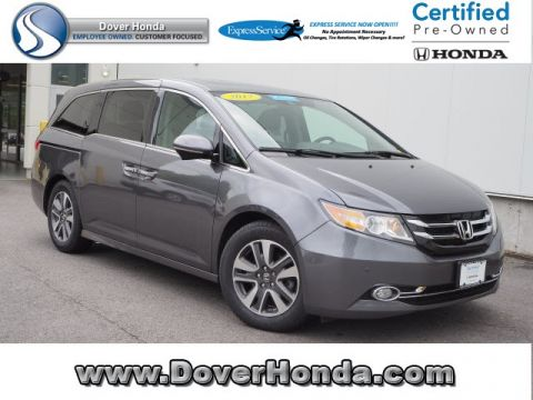 Certified Pre-Owned 2017 Honda Odyssey Touring